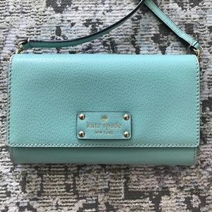 Kate Spade Clutch with Strap. NWOT